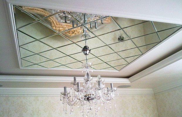 зеркальные потолки.