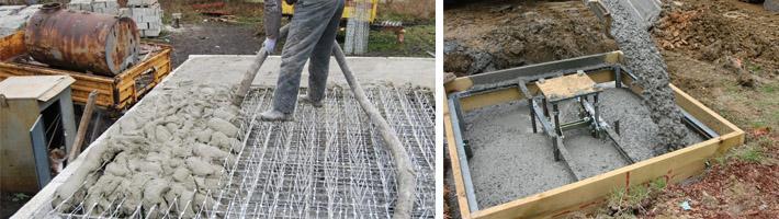 Как правильно приготовить бетонную смесь для заливки фундамента состав цементных и известковых растворов