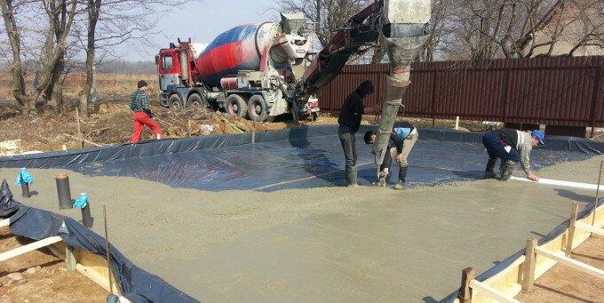 объемный бетон