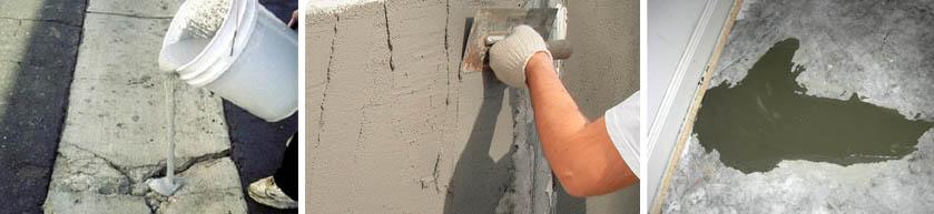 раствор ремонт бетона
