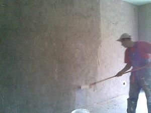 Нужно ли грунтовать бетонные стены перед штукатуркой цементным раствором плотность цементного раствора марки 150