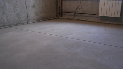 Цена стяжки пола песчано цементным раствором пропорция состав цементного раствора на стяжку